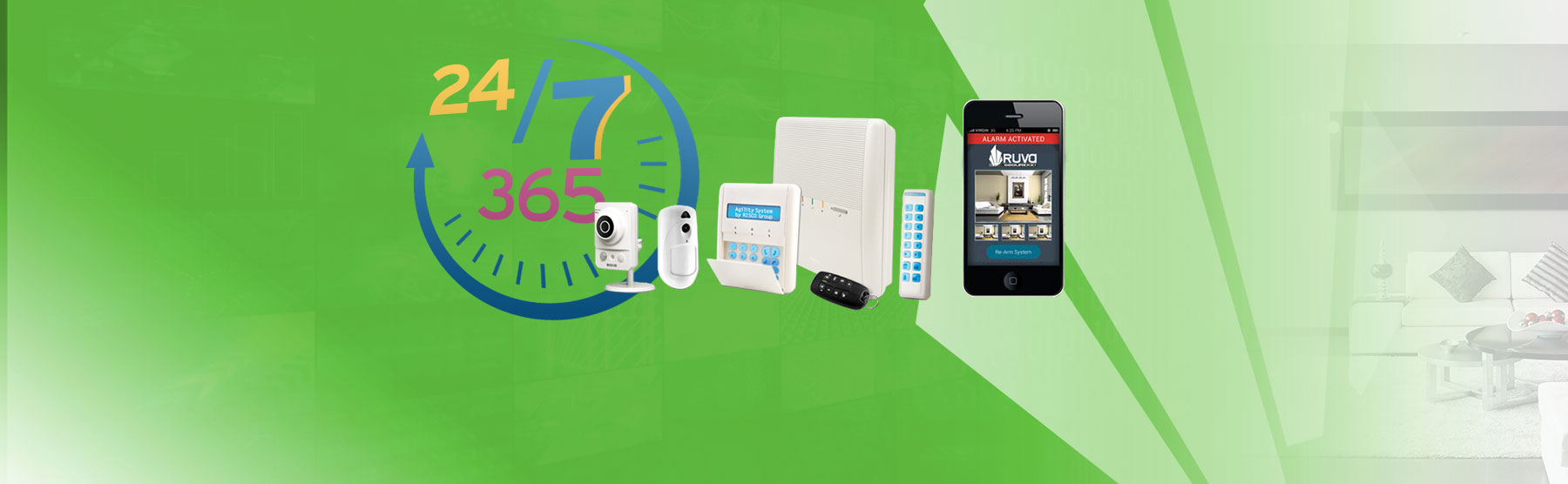 La instalaci n de alarmas ya no es s lo cosa de negocios for Instalacion de alarmas